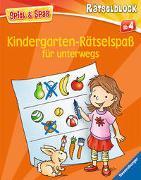 Cover-Bild zu Lohr, Stefan: Kindergarten-Rätselspaß für unterwegs