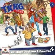 Cover-Bild zu TKKG Junior 07. Zwischen Gauklern und Ganoven