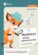 Cover-Bild zu Mysterys für den Sachunterricht in Klasse 3 und 4 von Kaufhold, Angelika