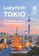 Cover-Bild zu Schwab, Axel: Labyrinth Tokio - 38 Touren in und um Japans Hauptstadt