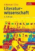 Cover-Bild zu Allkemper, Alo: Literaturwissenschaft