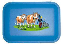 Cover-Bild zu Globi Lunchbox Alp blau
