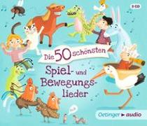 Cover-Bild zu Poppe, Kay (Komponist): Die 50 schönsten Spiel- und Bewegungslieder