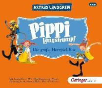 Cover-Bild zu Lindgren, Astrid: Pippi Langstrumpf. Die grosse Hörspielbox (6 CD)