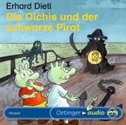 Cover-Bild zu Dietl, Erhard: Die Olchis und der schwarze Pirat