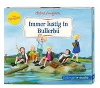 Cover-Bild zu Lindgren, Astrid: Immer lustig in Bullerbü - Das Hörspiel (CD)