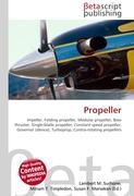 Cover-Bild zu Propeller von Surhone, Lambert M. (Hrsg.)