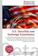 Cover-Bild zu U.S. Securities and Exchange Commission von Surhone, Lambert M. (Hrsg.)