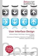 Cover-Bild zu User Interface Design von Surhone, Lambert M. (Hrsg.)