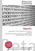 Cover-Bild zu OpenCL von Surhone, Lambert M. (Hrsg.)