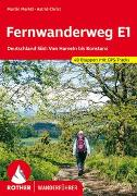 Cover-Bild zu Fernwanderweg E1 Deutschland Süd von Marktl, Martin