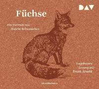 Cover-Bild zu Füchse. Ein Portrait von Schumacher, Katrin
