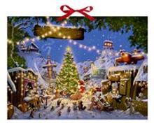 Cover-Bild zu Walko (Illustr.): Weihnachtsmarkt der Tiere Adventskalender