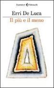 Cover-Bild zu Luca, Erri De: Il più e il meno