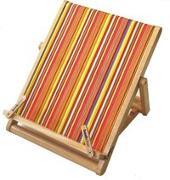 Cover-Bild zu Bookchair Standard Streifen - Buchständer aus Holz
