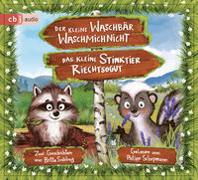 Cover-Bild zu Sabbag, Britta: Der kleine Waschbär Waschmichnicht und Das kleine Stinktier Riechtsogut