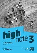 Cover-Bild zu High Note Level 3 Teacher's Book von Cole, Anna