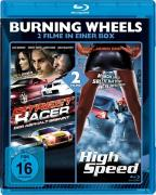 Cover-Bild zu Burning Wheels: Street Racer & High Speed von Clint Browning (Schausp.)