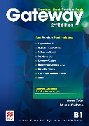 Cover-Bild zu Gateway 2nd Edition B1 Teacher's Book Premium Pack von Mallows, Ursula
