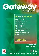 Cover-Bild zu Gateway 2nd edition B1+ Teacher's Book Premium Pack von Cole, Anna