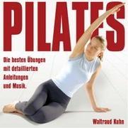 Cover-Bild zu Pilates - Die besten Übungen. CD von Kuhn, Waltraud