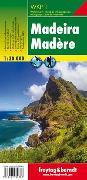 Cover-Bild zu Madeira, Wanderkarte 1:30.000. 1:30'000 von Freytag-Berndt und Artaria KG (Hrsg.)
