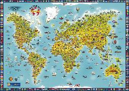 Cover-Bild zu Panorama Kinderweltkarte plano