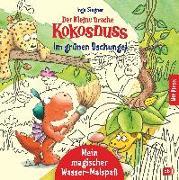 Cover-Bild zu Siegner, Ingo: Der kleine Drache Kokosnuss - Mein magischer Wasser-Malspaß - Im grünen Dschungel