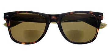 Cover-Bild zu MAMBO G12600, havanna, inkl. Etui, +1.50 dpt, Bifo Sonnenbrille mit Bambusbügeln, Federtechnik