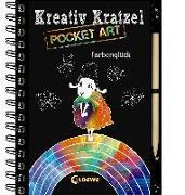 Cover-Bild zu Kreativ-Kratzel Pocket Art: Farbenglück von Heger, Ann-Katrin