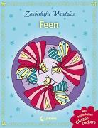 Cover-Bild zu Zauberhafte Mandalas - Feen (mit Glitzerstickern) von Loewe Kreativ (Hrsg.)