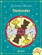 Cover-Bild zu Zauberhafte Mandalas - Tierkinder von Loewe Kreativ (Hrsg.)