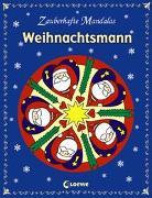 Cover-Bild zu Zauberhafte Mandalas - Weihnachtsmann von Loewe Kreativ (Hrsg.)