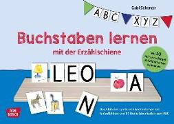 Cover-Bild zu Buchstaben lernen mit der Erzählschiene von Scherzer, Gabi
