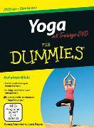 Cover-Bild zu Feuerstein, Georg: Yoga für Dummies mit Video-DVD
