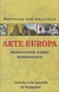 Cover-Bild zu Hellfeld, Matthias von: AKTE EUROPA (eBook)