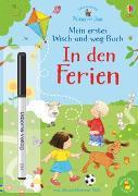 Cover-Bild zu Taplin, Sam: Nina und Jan - Mein erstes Wisch-und-weg-Buch: In den Ferien