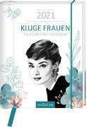 Cover-Bild zu Buchkalender Kluge Frauen 2021