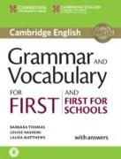 Cover-Bild zu Thomas, Barbara: Grammar and Vocabulary for First and First for Schools Book with Answers