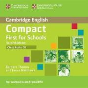 Cover-Bild zu Thomas, Barbara: Compact First for Schools Class Audio CD