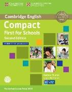 Cover-Bild zu Thomas, Barbara: Compact First for Schools. Student's Book without Answers with CD-ROM