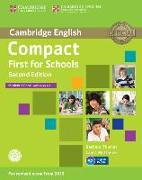 Cover-Bild zu Thomas, Barbara: Compact First for Schools Student's Book with Answers with CD-ROM