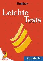 Cover-Bild zu Schumann, Johannes: Leichte Tests Spanisch (eBook)