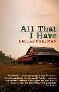 Cover-Bild zu Freeman, Castle: All That I Have