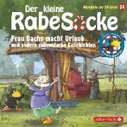 Cover-Bild zu Diverse (Gelesen): Frau Dachs macht Urlaub und andere rabenstarke Geschichten