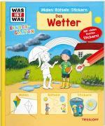 Cover-Bild zu Marti, Tatjana: WAS IST WAS Kindergarten Malen Rätseln Stickern. Das Wetter
