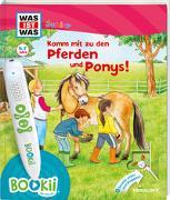 Cover-Bild zu Braun, Christina: BOOKii® WAS IST WAS Junior Komm mit zu den Pferden und Ponys!