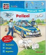 Cover-Bild zu Marti, Tatjana: WAS IST WAS Junior Mitmach-Heft. Polizei