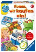 Cover-Bild zu Brand, Inka und Markus: Ravensburger 24721 - Komm, wir kaufen ein! - Lernspiel für die Kleinen - Zuordnungsspiel für Kinder ab 2 Jahren, Spielend erstes Lernen für 1-4 Spieler