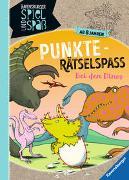 Cover-Bild zu Richter, Martine: Punkte-Rätselspaß: Bei den Dinos